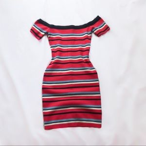 flying tomato ⋆ striped knit dress